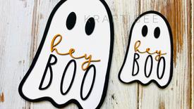 Hey Boo Ghost DIY