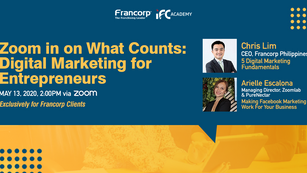 Zoom in on What Counts Digital Marketing for Entrepreneurs