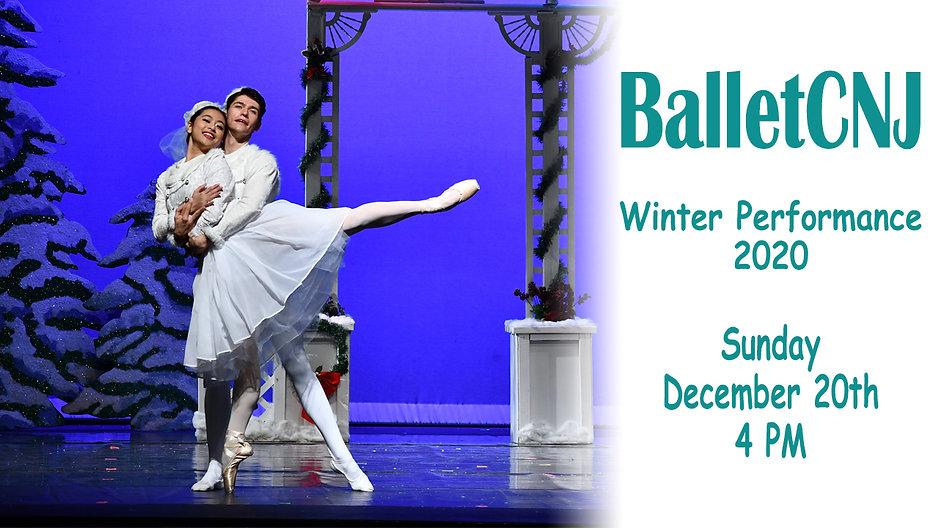Winter Performance 2020 - Sunday, December 20th - 4PM