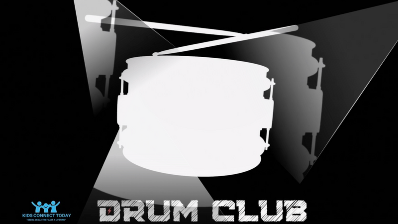 Drum Club @ Kids Connect Today