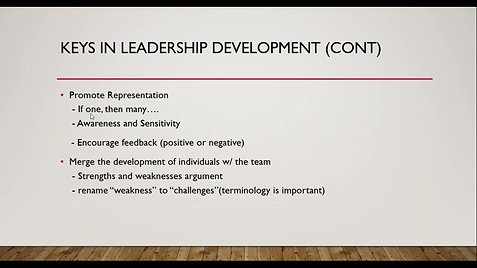 Leadership Development for Managers and Supervisors