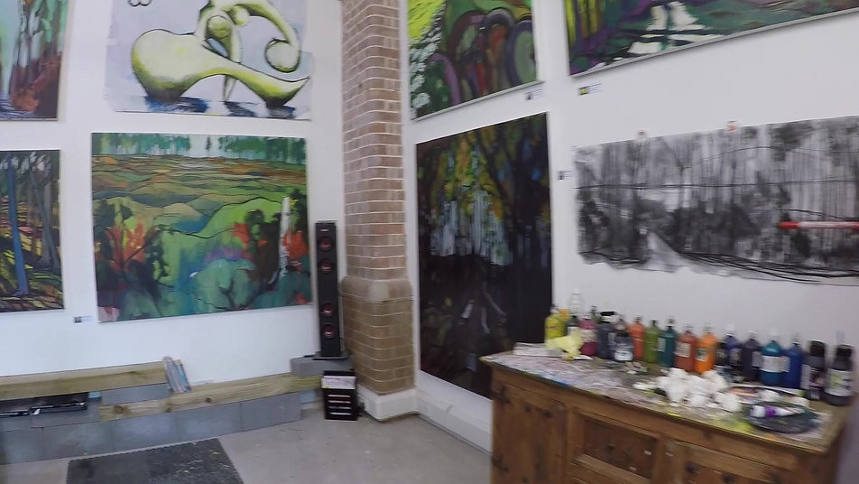 Gallery & studio space May 2019