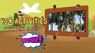 40 + Activities