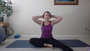 Seven Minute Stretch Thoracic Spine Pilates