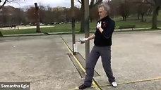 Swordplay Footwork with Ian Rose Class 2
