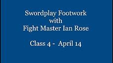 Swordplay Footwork Class 4