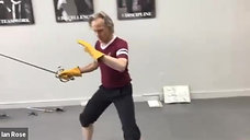 Swordplay Footwork Class 14