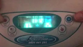 4.Digital settings with clock