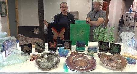 Art of Silastial Glass Workshop - Testimonial
