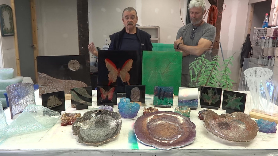 Art of Silastial Glass Workshop - Testimonial