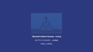 TRANSFORMATIONAL YOGA . INDIGO BLUE . 6TH CHAKRA . AJNA