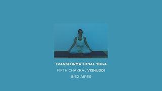 TRNSFORMATIONAL YOGA . CELESTIAL BLUE . FIFTH CHAKRA . VISHUDDI