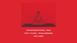 RED . FIRST CHAKRA MOOLANDHARA