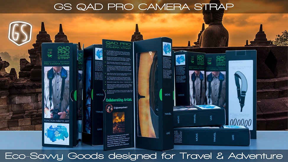QAD PRO CAMERA STRAP - VIDEO LOOKBOOK