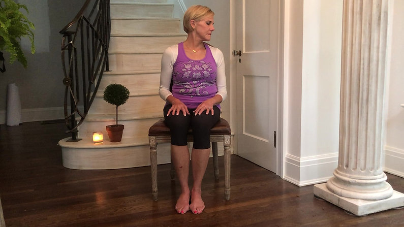 Joint Loosening Chair Yoga 12 Minutes