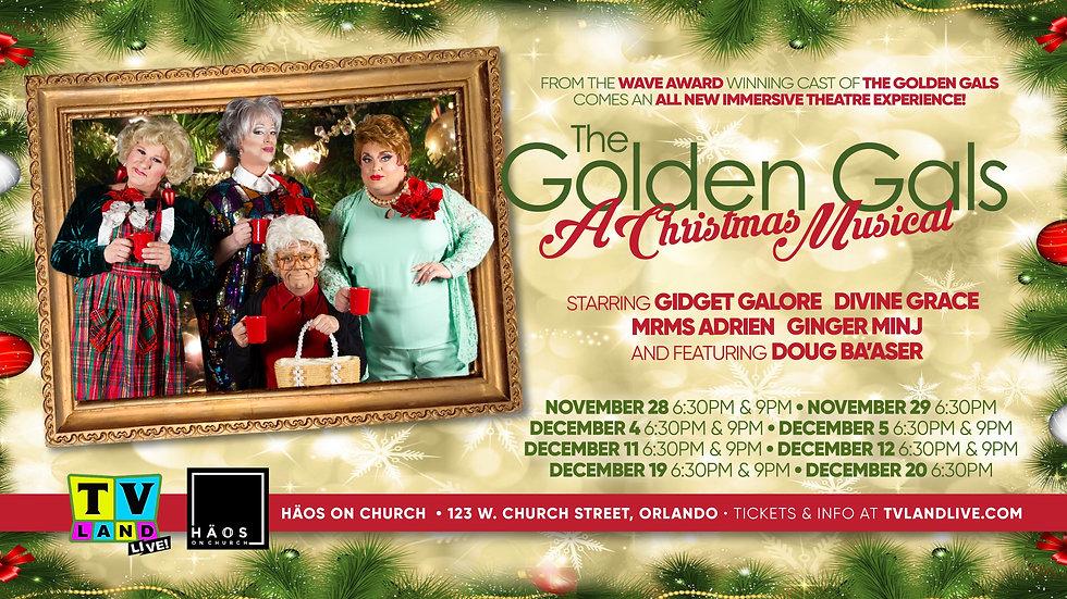 The Golden Gals: A Christmas Musical