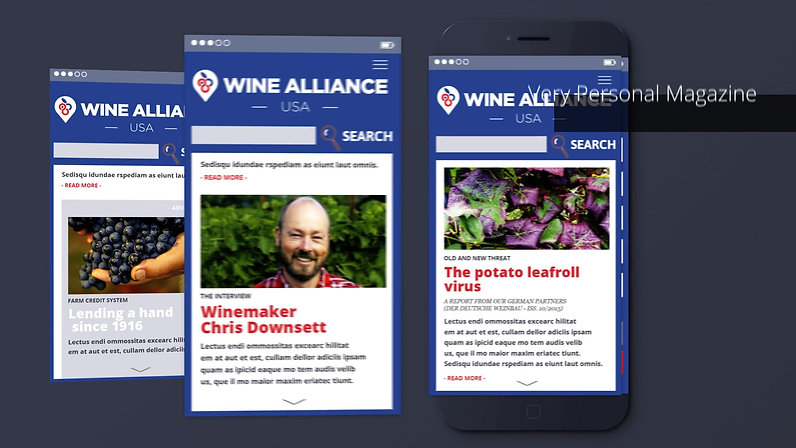 Wine Alliance - App Teaser