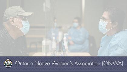 Mindimooyenh Vaccination Clinic - Chief Melvin Hardy, Biinjitiwaabik Zaaging Anishinaabek (Rocky Bay First Nation)