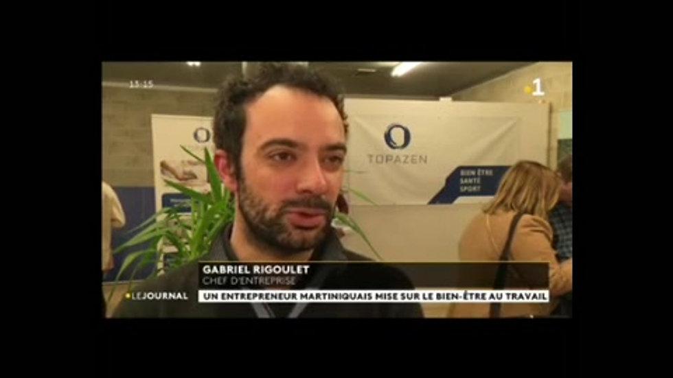 Reportage de martinique première - Mars 2020