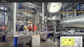 Virtualisation d'une usine par VIS-On