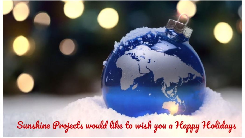 Sunshine Projects 2020 Holiday Greetings