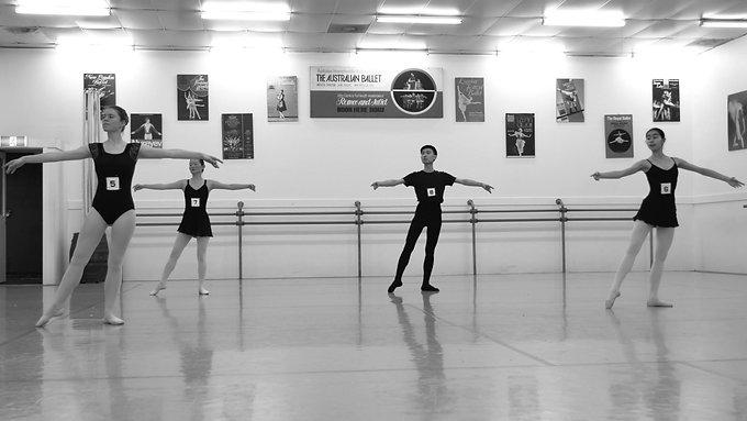 Adults Ballet Assessment 2017 Term 3