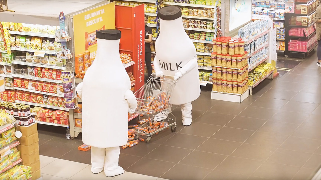 Bournvita Biscuits: Milk Goes Shopping