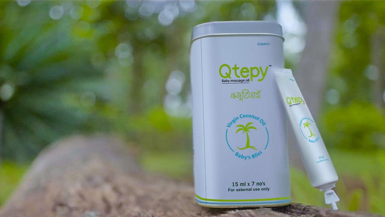 Curatio Healthcare: Qtepy - Virgin Coconut Oil