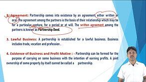 Fundamentals of Partnership 1