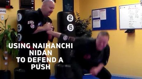 Push Defense From Naihanchi Nidan