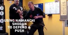 Push Defense From Naihanchi Shodan