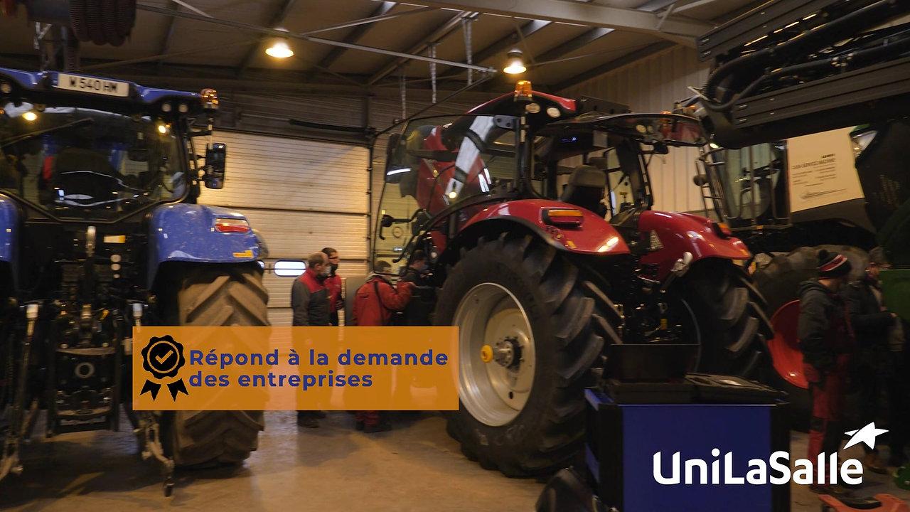 Présenation du Bachelor AgriTen à UniLaSalle l Vidéo événementielle