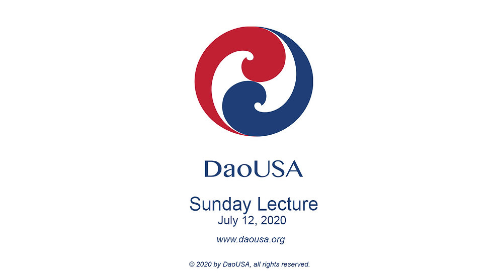 Sunday Lecture 2020-07-12