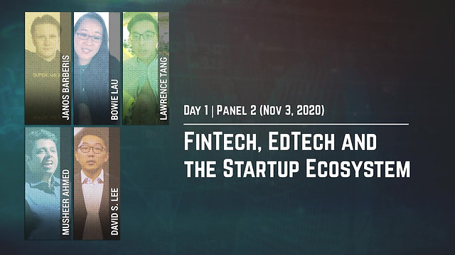 FinTech, EdTech and the Startup Ecosystem