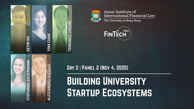 Building University Startup Ecosystem
