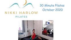 30 Minute Pilates October 2020