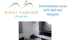 Intermediate Level with Ball and Weights