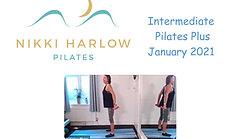 Intermediate Pilates Plus January 2021
