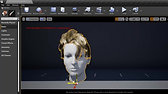 Hair Xgen To Unreal, Groom, Hair Real-Time Rendering and Simulation