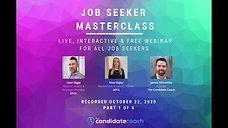 Job Seeker Masterclass - Episode 1