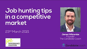 Job Hunting Tips In A Competitive Market