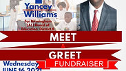 Yancey Williams Campaign Fundraiser