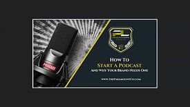 Why and How To Start A Podcast
