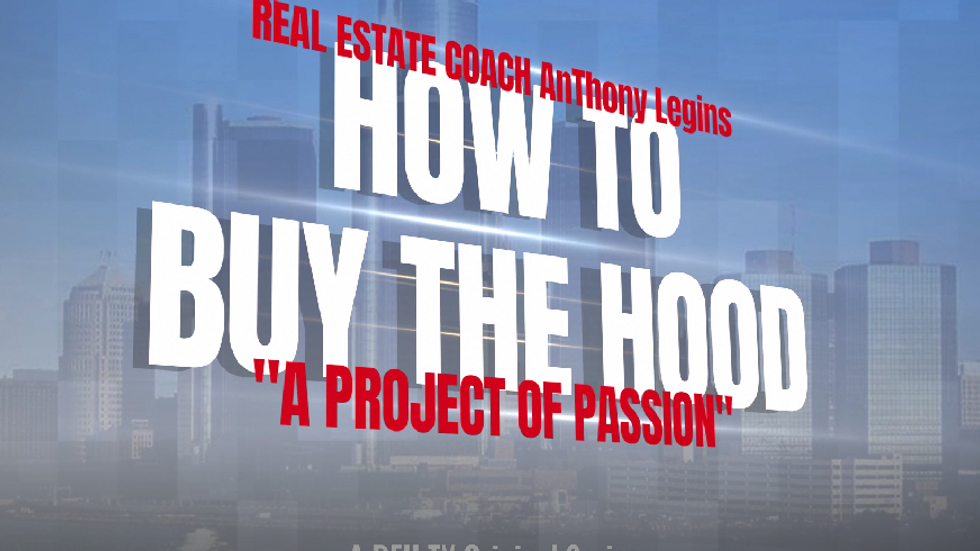 Five Star Real Estate Coach AnThony Shows