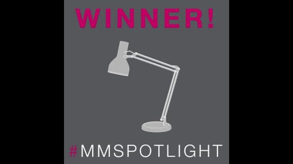 #MMSPOTLIGHT Campaign - Mansfield Monk  WINNER GIF