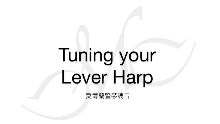 Tuning your Lever Harp