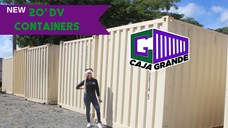 New 20' Standard Containers