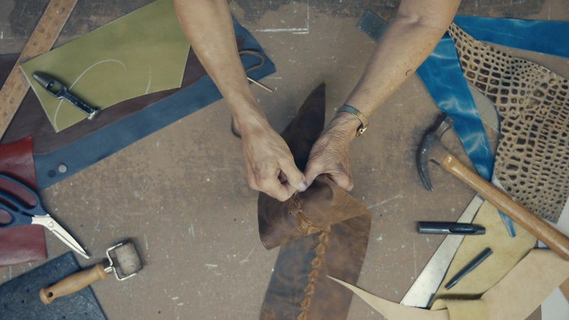McKinley Leather Furniture Process Video