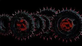 spikes in the dark