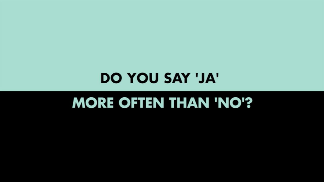 Power of JA - Do You Say JA More Often Than No